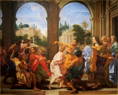 Joseph recognized by his brothers