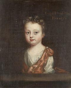 Lady Elizabeth Hervey, later Lady Mansel (1697-1727) as an Infant