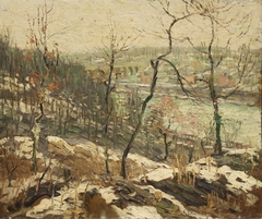 Landscape near the Harlem River