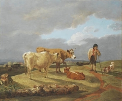 Landscape with a Shepherd and his Herd