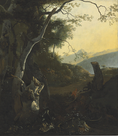 Landscape with a Silver Birch