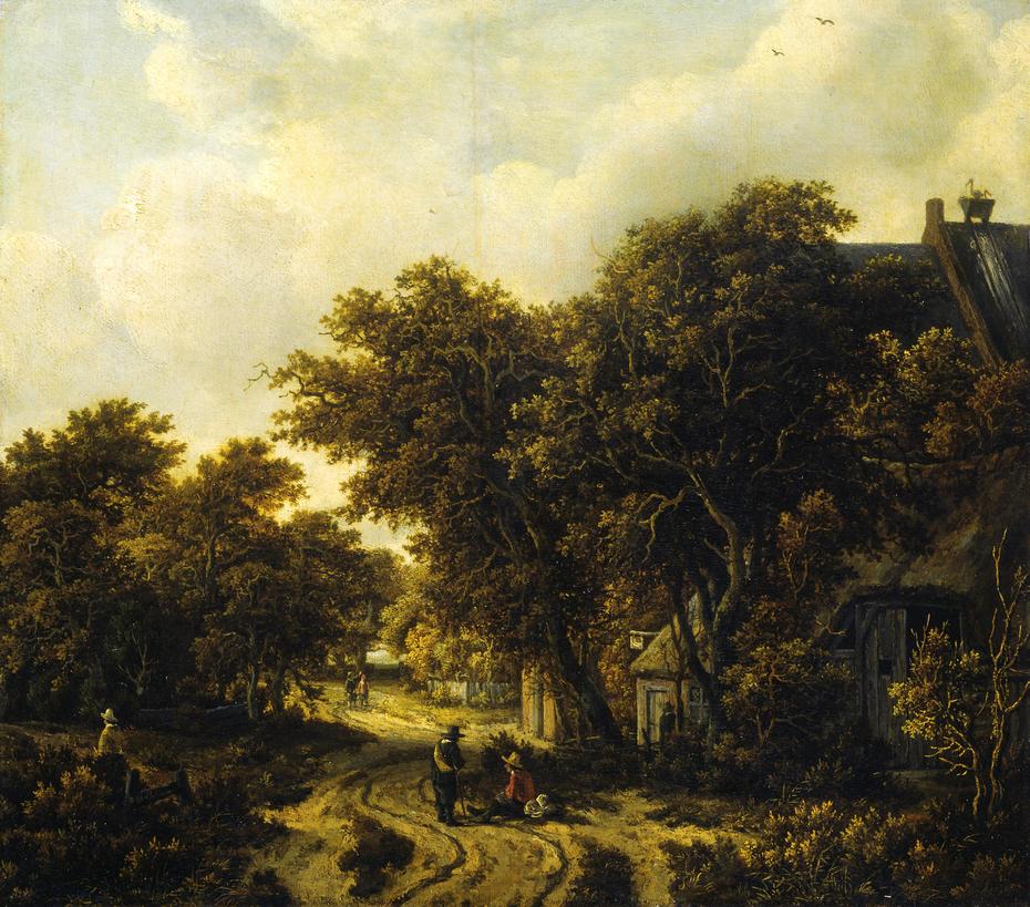 Landscape with an Inn