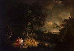 Landscape with Dido and Aeneas (Storm)