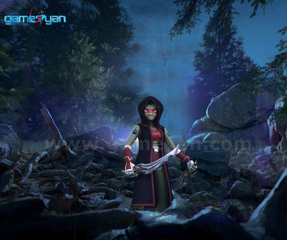 Lotha 3D  Warrior Character Animation Model By Animation Movie Production Companies