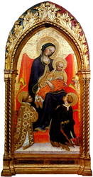 Madonna and Child, with Saints Lawrence and Julian