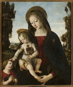 Madonna with Child Jesus and St. John
