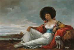 Maja with Lapdog