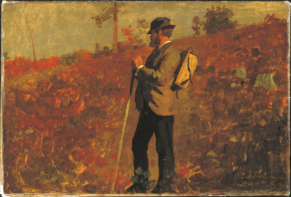 Man with a Knapsack