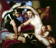Mars and Venus at the chess
