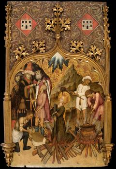 Martyrdom of Saint Lucy
