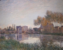 Moret at Sunset