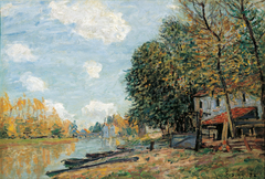 MThe Banks of the Loing at Moret