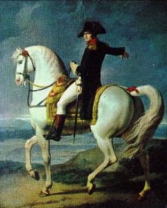 Napoléon au camp de Boulogne