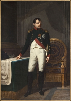 Napoleon I in Chasseur Colonel Uniform