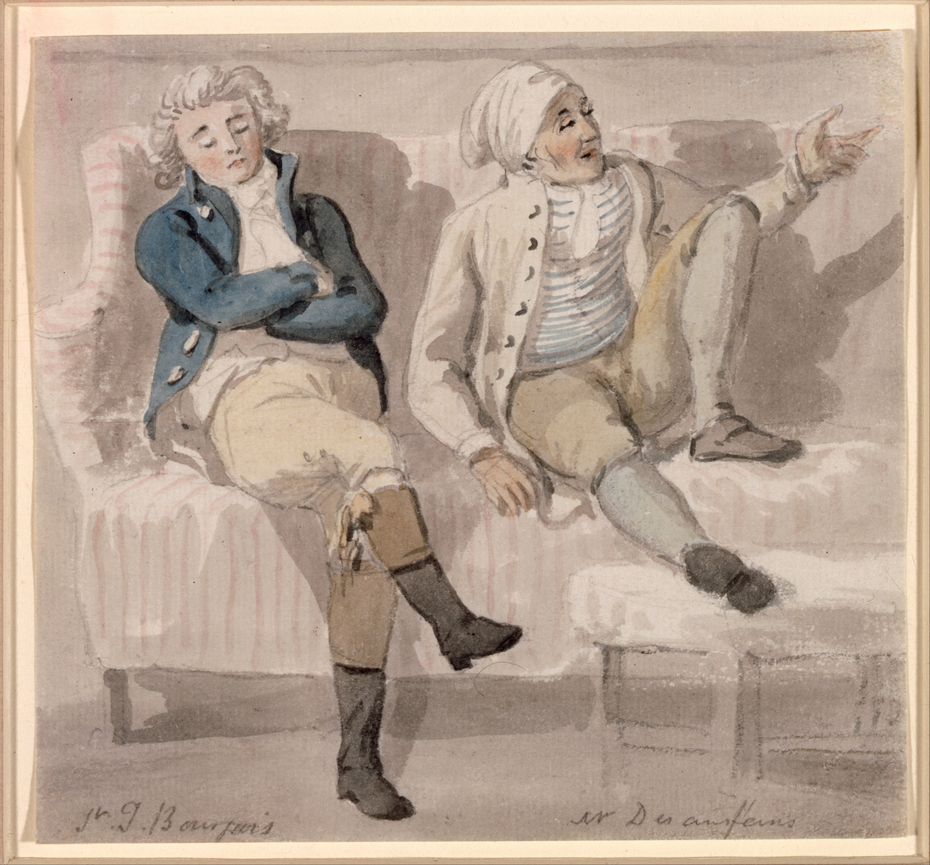 Noel Desenfans and Sir Francis Bourgeoi