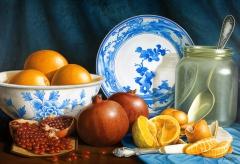 Oranges & Pomegranates