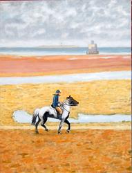 Polo pony, Humber Estuary 1970s