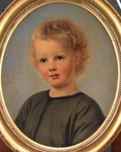 Portræt af Holger Aagaard Hammerich som 4-årig