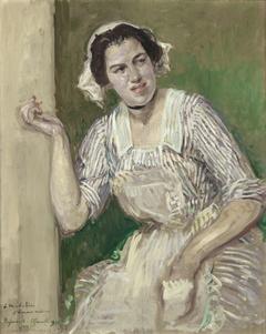 Portrait de Madeleine Pissard en Roxane (l'amour médecin)