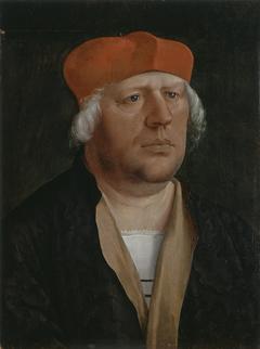 Portrait of a Canon (probably Canon Johann Rieper...