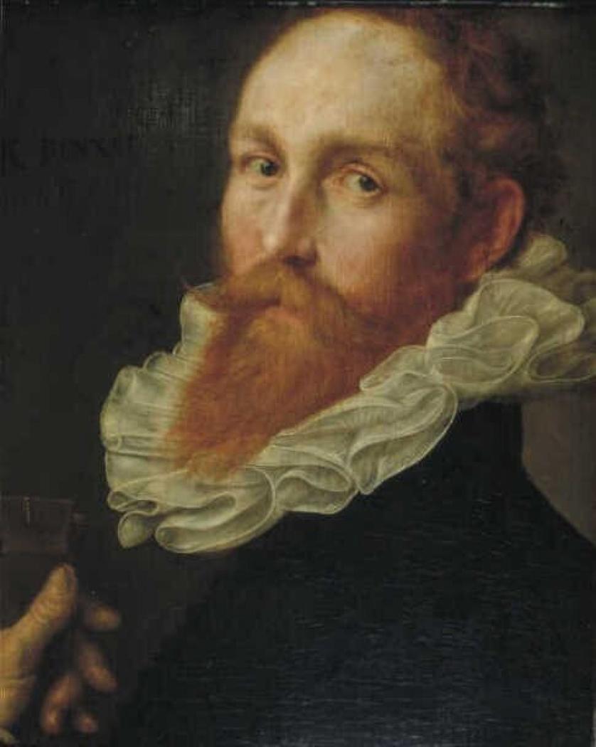 Portrait of a man (Hendrik Goltzius?)