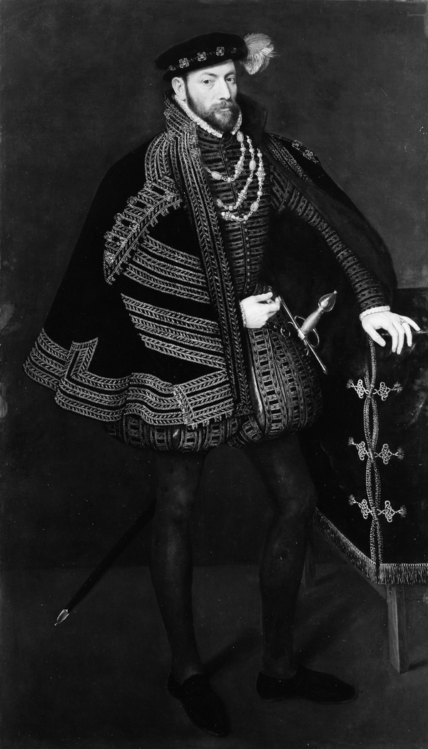 Portrait of a Man, Possibly Ottavio Farnese (1524–1586), Duke of Parma and Piacenza