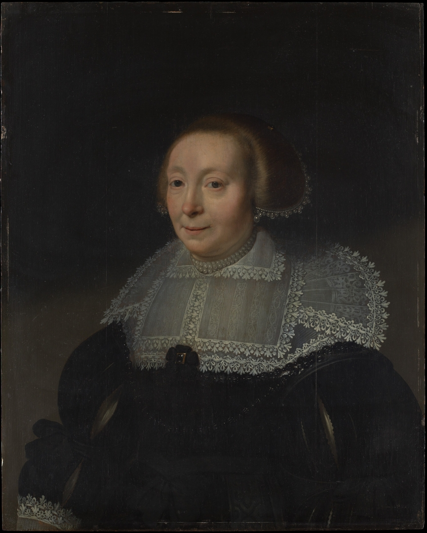 Portrait of a Woman with a Lace Collar