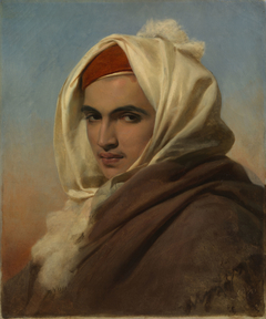 Portrait of a Young Arab Chief
