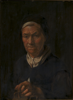 Portrait of an Old Woman, Wife of Christian Jacobsen Drakenberg, née Bagge (?)