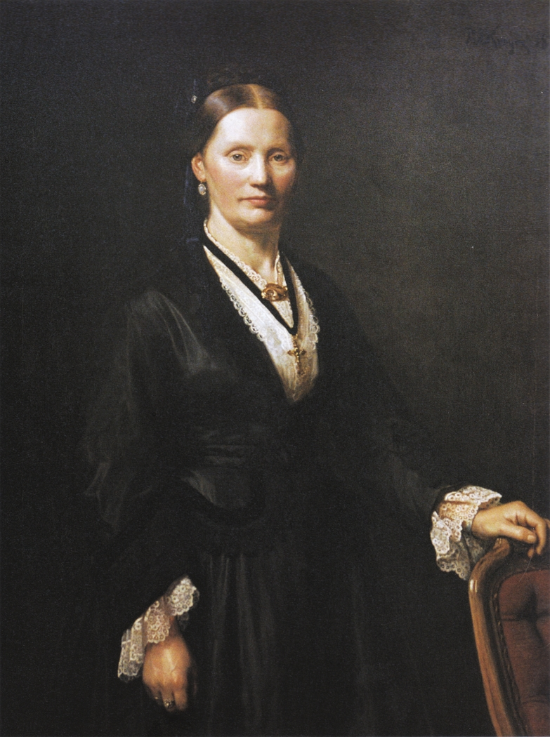 Portrait of Bertha Cecilie Krøyer