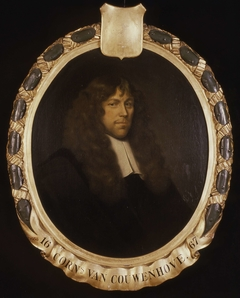 Portrait of Cornelis van Couwenhove, Director of the Rotterdam Chamber of the Dutch East India Company, elected 1667