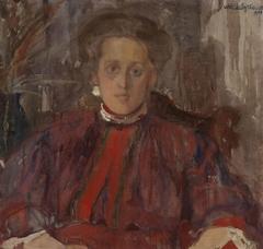 Portrait of Eliza Pareńska née Mühleisen
