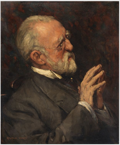 Portrait of Justin McCarthy (1830-1912), Novelist and Politician