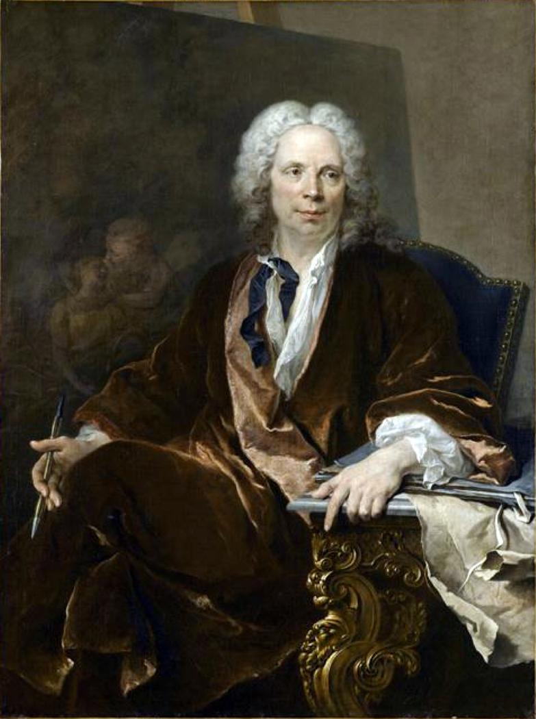 Portrait of Louis Galloche (1670-1761), painter
