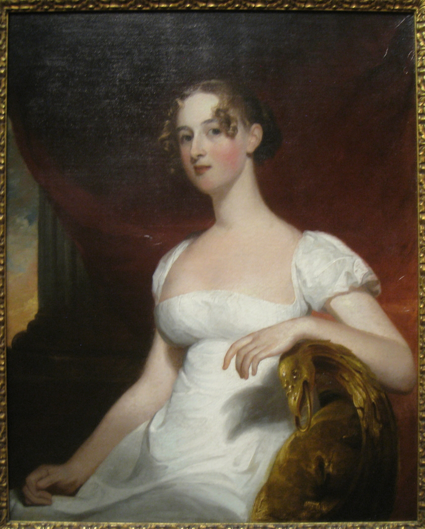 Portrait of Margaret Siddons, Mrs. Benjamin Kintzing