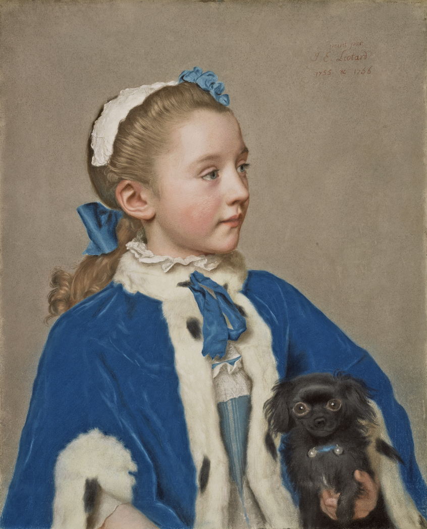 Portrait of Maria Frederike van Reede-Athlone at Seven Years of Age
