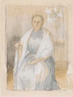 Portrait of Mrs. Anna Sinebrychoff, Sketch