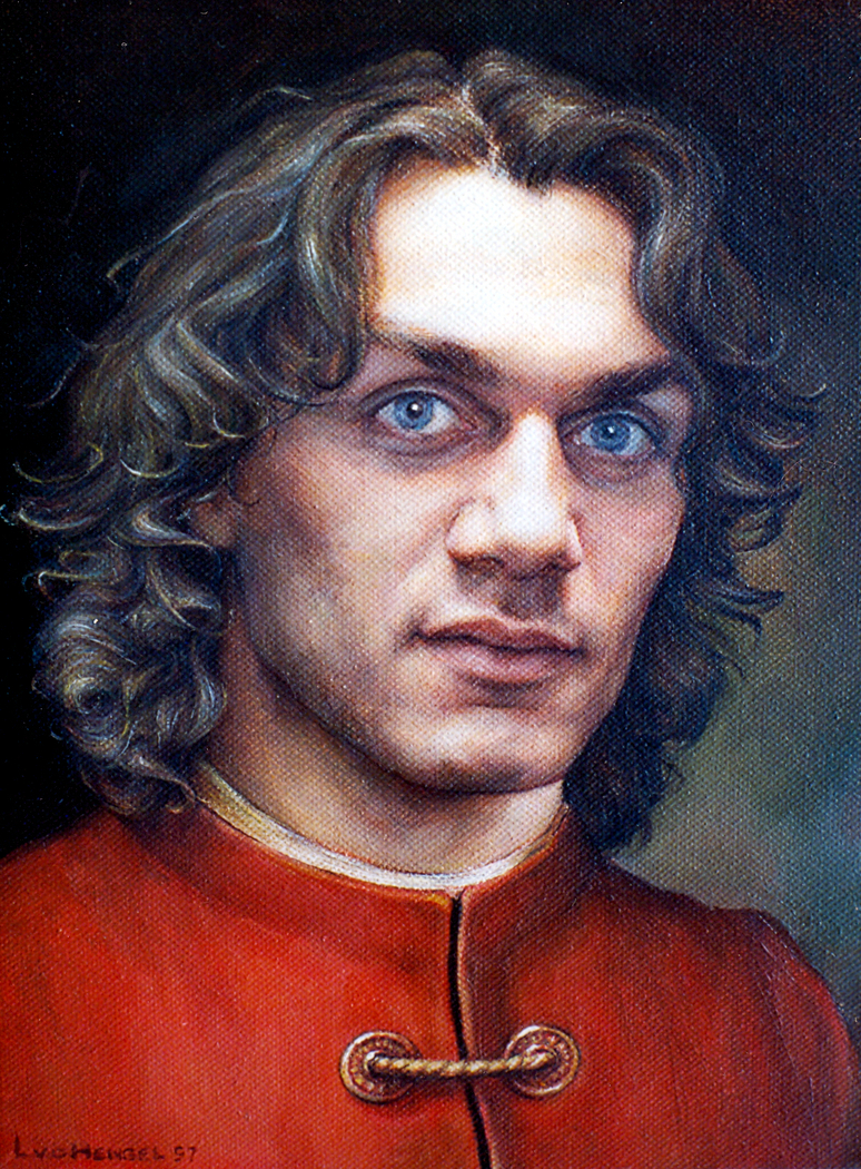 Portrait of Paolo Maldini