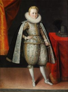 Portrait of Prince Ladislaus Sigismund Vasa.