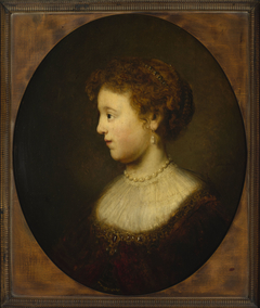 Portrait of Saskia