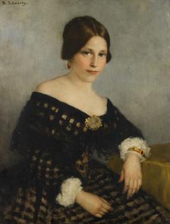 Portrait of Sophia Adriana de Bruijn (1816-1890)
