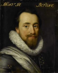 Portrait of Syrius de Bethune, Lord of Cogni, Mareuil, le Beysel, Toulon, Conegory and Chastillon