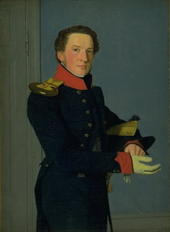 Portrait of the Naval Lieutenant D. Christen Schifter Feilberg