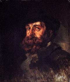 Portrait of the painter Karl Hagemeister