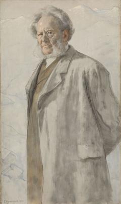 Portrait of the Poet Henrik Ibsen