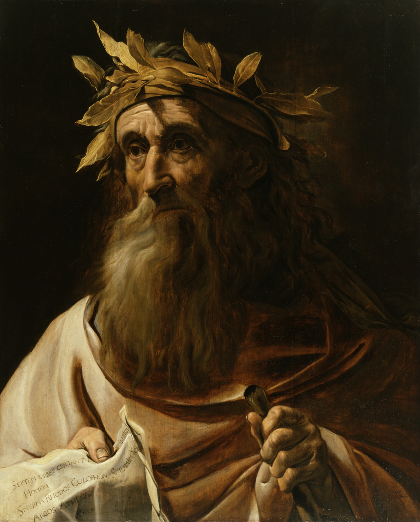 Portrait of the Poet Homer