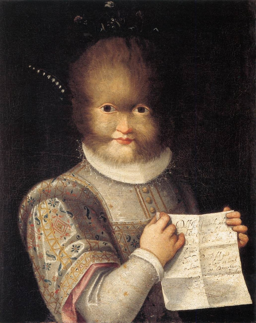 Portrait of Tognina Gonsalvus