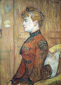 Portrait Study of a Woman in Profile