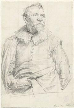 Portret van de schilder Adam van Noort