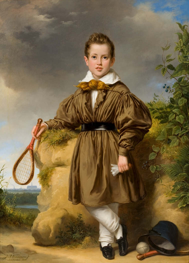 Portret van Jan Philips François van der Vinne